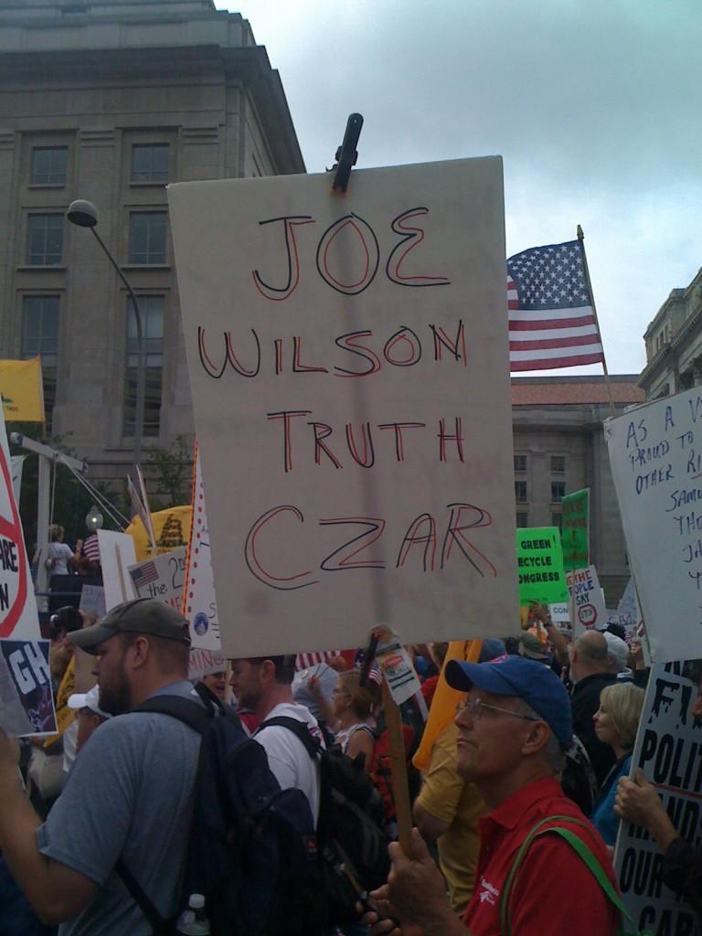 Joe wilson truth czar
