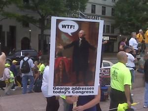 George washington wtf